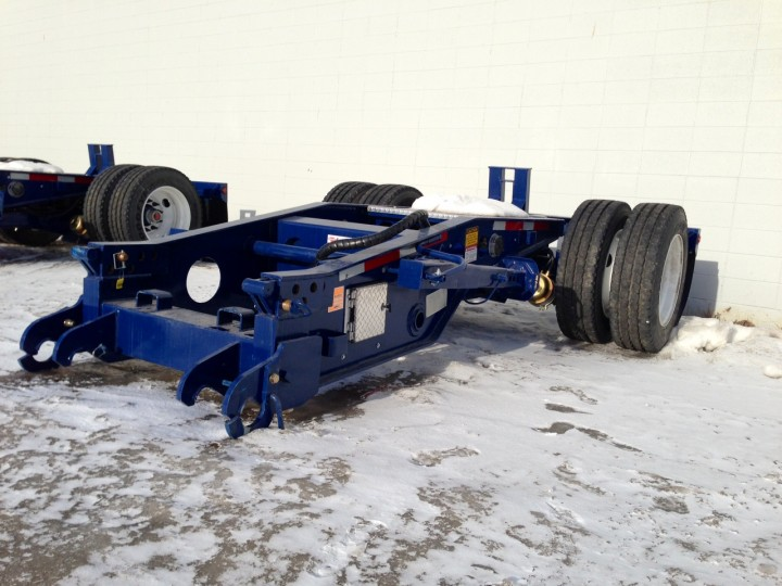 SINGLE AXLE BOOSTER